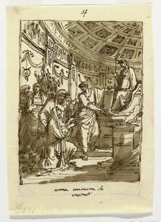 Drawing, Palazzo Milzetti, Faenza;, 1802–05