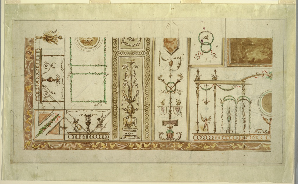 Drawing, Wall and Ceiling Decorations