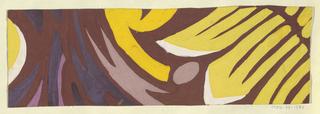 Drawing, Textile Design: Osterglocken (Narcissus)