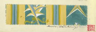 Drawing, Textile Design: Zaunkönig (Wren), 1912–17