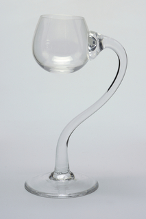 Semiramis Elevation Wine Glass, 1981