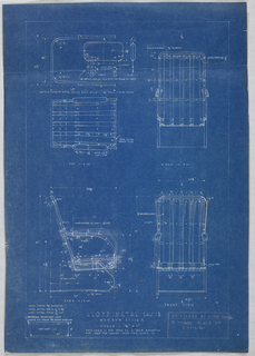 Blueprints for chair.