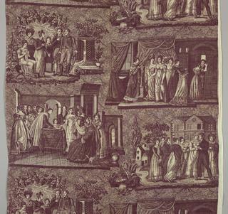 Textile, Marriage scenes