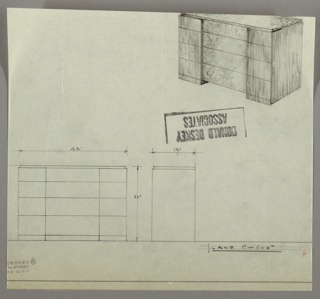 Drawing, Chest of Drawers, 1930s