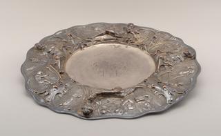 Dish, 17th century