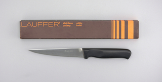 "Stainless Lauffer Designs 6"" Utility Knife, mid-20th century"