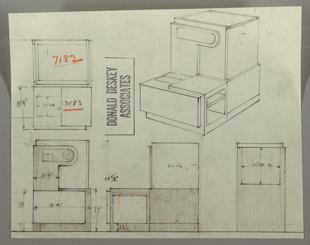Drawing, Cabinet: Use Not Specified, 1930s