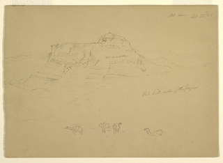 Drawing, Mount Hor