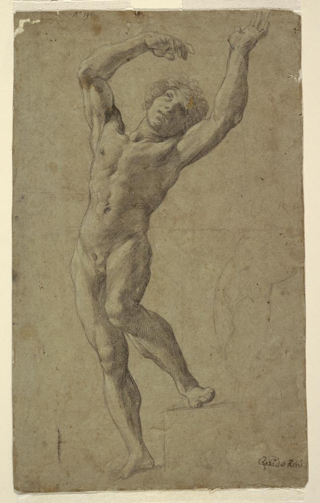 Drawing, Study for St. Sebastian, Museo Pomarici Santomasi, Puglia, Italy