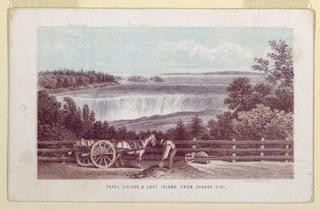 Print, Niagara Falls, ca. 1857