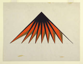 Drawing, Geometric Study for Hickok Belt Co.