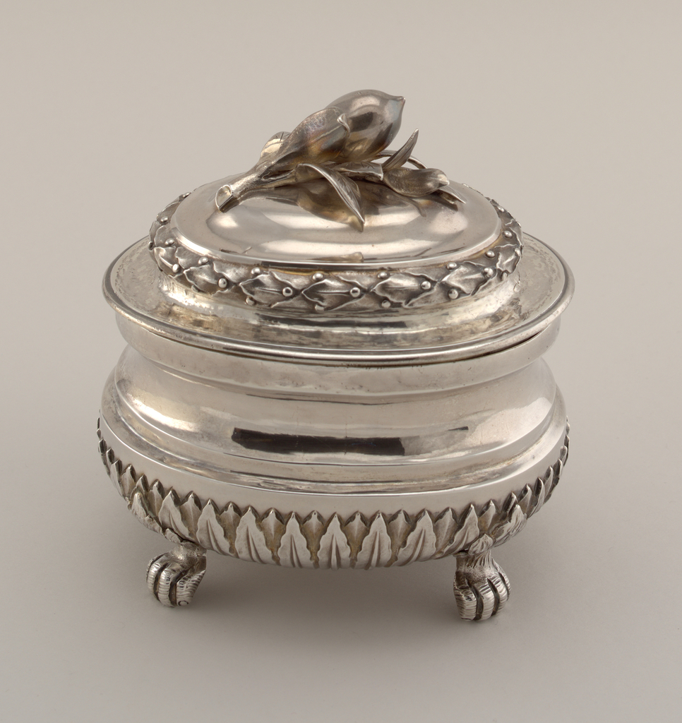 Sugarbowl And Cover (Italy), ca. 1768