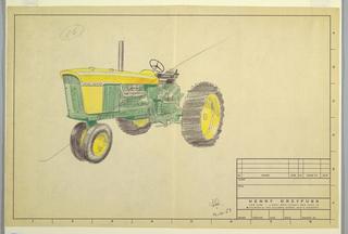 Design for John Deere tractor