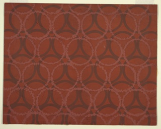 Drawing, Design for Textile: Overlapping Circles