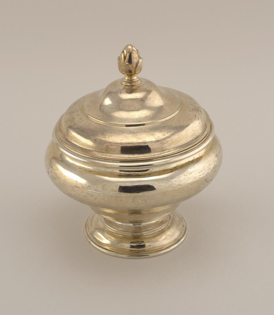 Sugar Bowl And Cover, ca. 1760