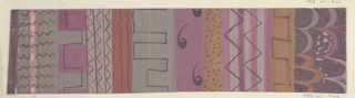 Drawing, Textile Design: Tokio (Tokyo)