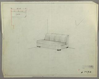 Drawing, Sofa, 1929–1934