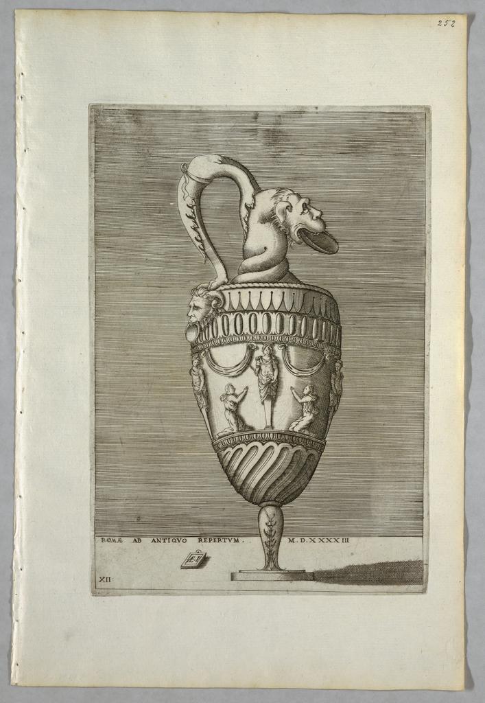 Print, Vase (Plate 12 of a Series)
