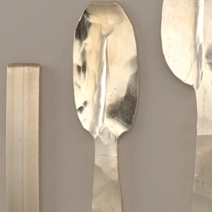 "Ingots to finished ""Hanovarian"" dessert spoon"