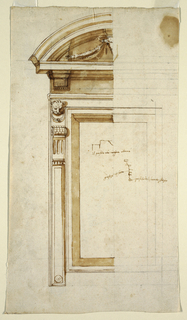 Drawing, Palazzo dei Conservatori,, 1575–1600