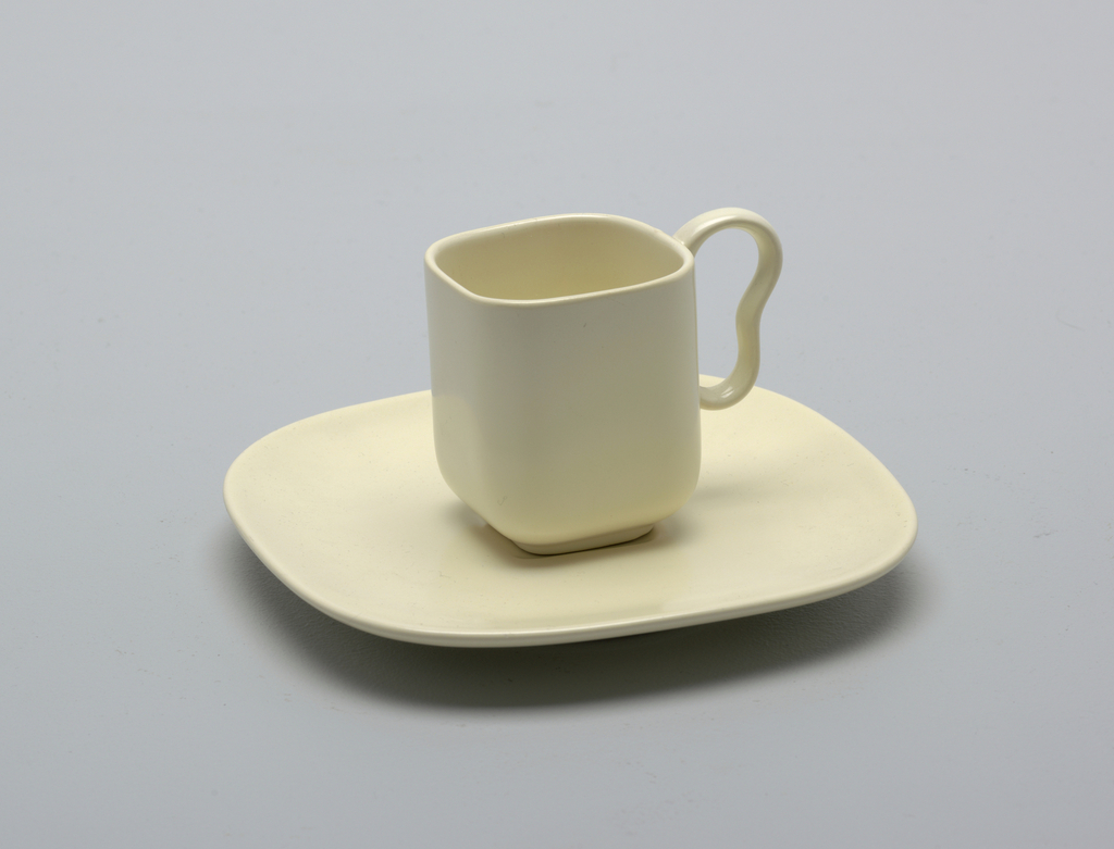 Franciscan Ware Cup And Saucer, 1950–59