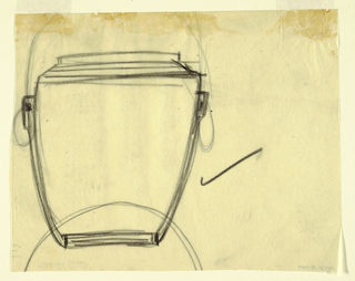 Drawing of a jar.