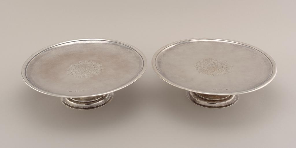 Salver, 1697