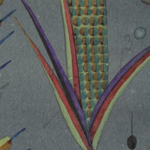 Drawing, Textile Design: Feldfrüchte (Produce of the Field)