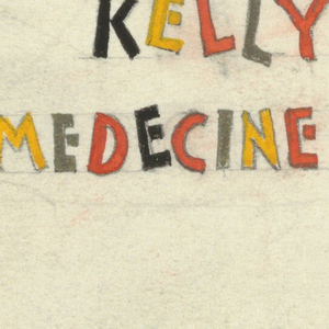 Title lettering in various colors: DR / KELLY'S / MEDECINE SHOW