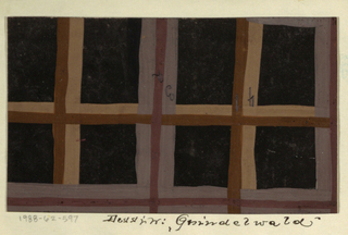 Drawing, Textile Design: Grindlwald