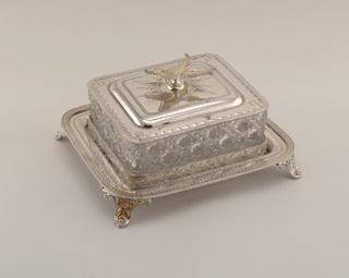 Sardine Box (England), ca. 1870