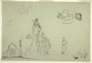 Drawing, Architectural and Figure, 1868