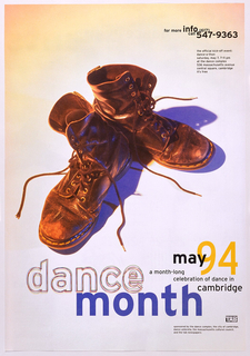 Poster, Poster: Dance Month