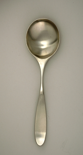 Magnum Large Serving Or Salad Spoon, mid-20th century