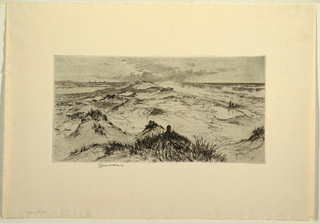 Print, The Sand Dunes, East Hampton