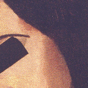 Depicts a woman's head tiled to the left with dark hair and deep red lipstick. and a black rectangle blocking her eyes. She wears a red shirt with a black collar. Inscribed in black on yellow, above: SYLVIA; below, in white on black: a novel by; in yellow on red, HOWARD FAST.