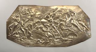 Battle Scene Panel, 1880