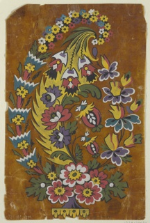 Drawing, Design for a Woven Fabric Motif, 1815–30