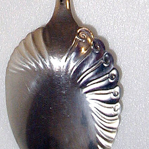 """Assyrian Head"" pattern Berry Spoon, 1885–86"