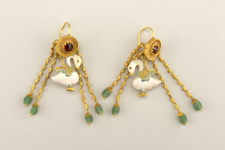 Swan earrings Earring