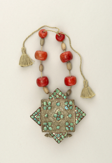 Necklace with amulet Necklace