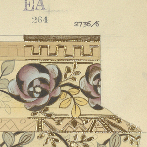 Drawing, Design for a Vase