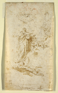 Drawing, The Immaculate Conception