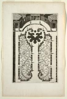 Print, Plate, in Nouveaux Livre de Parterres contenant 24 pensséz diferantes (New Book Containing 24 Different Variations for Garden Beds)
