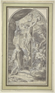 Drawing, The Crucifixion