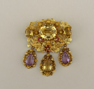 Brooch (France), ca. 1820–40