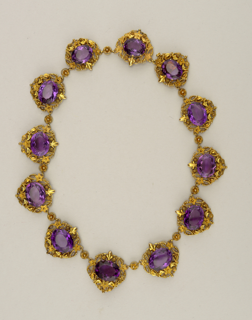 Necklace (France), ca. 1820–40