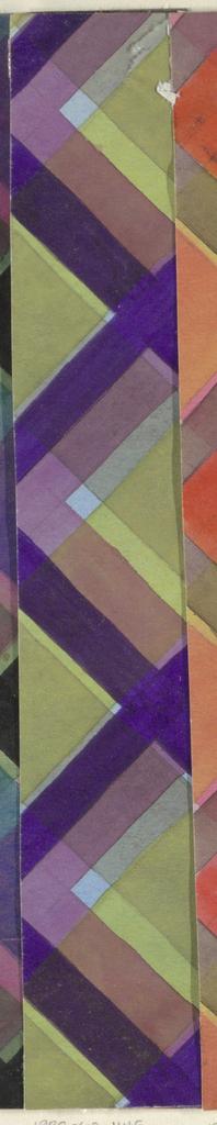 Drawing, Textile Design: Kerker (Dungeon)