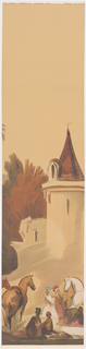 Scenic - Panel, Chateau de Province, 1930–40