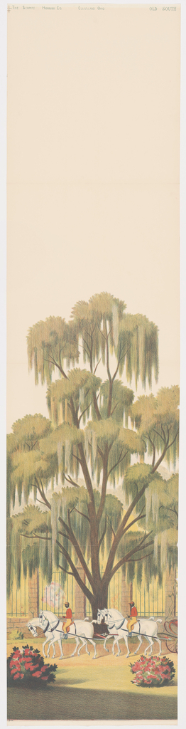 Scenic - Panel, Old South, 1930–40